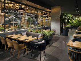 Kapitanov & BIOboard's partnership for Ginger restaurant
