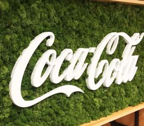 Green branding for Coca-Cola